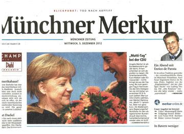 Merkur Titel vom 05.12.2012