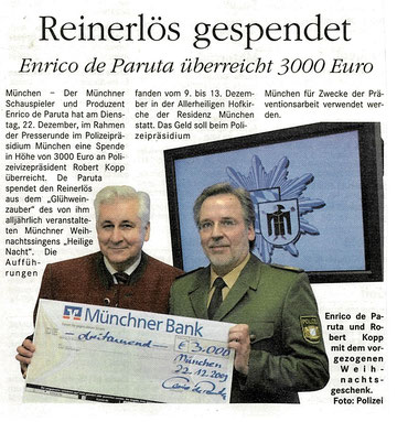 Münchner Merkur  Gesamtausgabe vom 10.12.2009