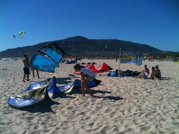 Los Lances in Tarifa beach life