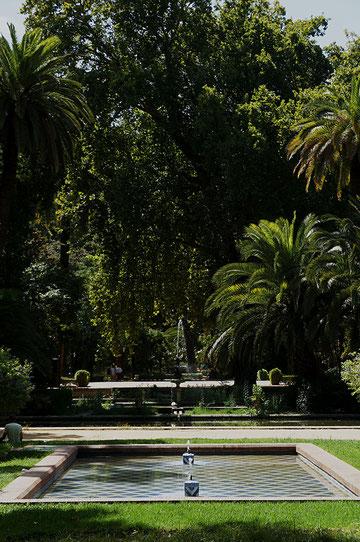 Les jardins du parc María Luisa