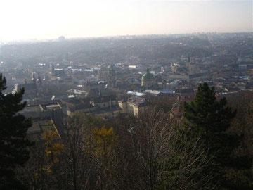 Blick auf Lemberg vom Schlossberg