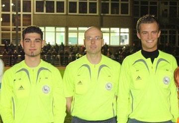 v.l. Samuel Scharf, Alexander Hahn, Daniel Siemers       Foto: Volker Giering