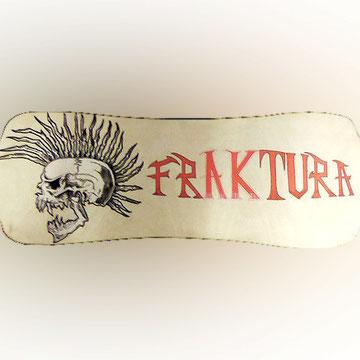 tabla de skate.Fraktura Exploited.