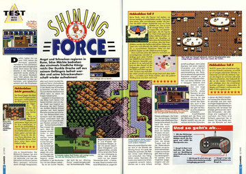 Shining Force Gamers 5\93