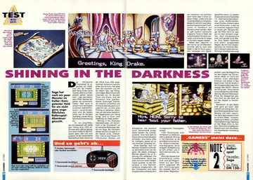 Shining in The Darkness Gamers 2\92