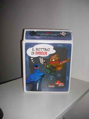 la scatola del bottino di Diabolik