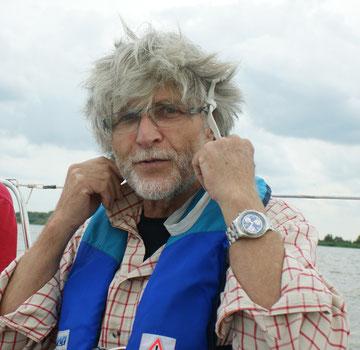 Georges beim Segeltörn auf der Elbe - Foto J. Petersen