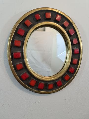 Espelt mithé francois lembo céramique miroir