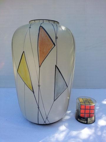 Grand Vase en céramique allemande circa 1950