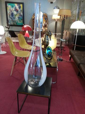 Grand vase en verre de murano