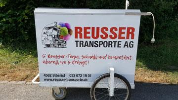 Glacewagen mieten - Reusser Transporte AG Biberist
