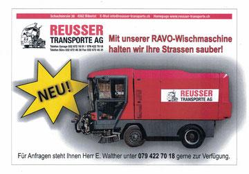 Kranarbeiten - Reusser Transporte AG Biberist