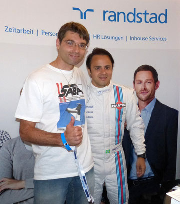 Wolfgang/SABA, Felipe Massa/Williams Racing, Mr. X/randstad