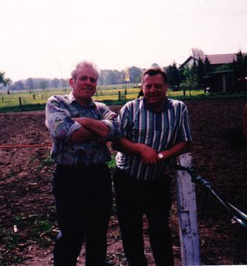 Wagenfeld'91 Werner Bussmann und Horst Stüwe