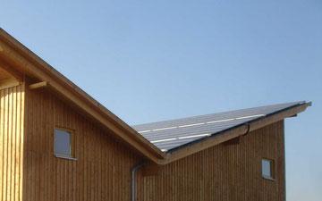 Photovoltaik Dach bei Jukatan Umwelttechnik
