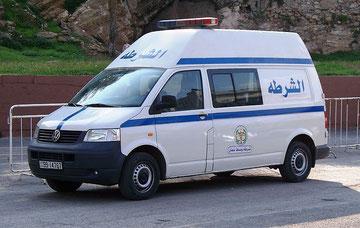 T5a met verhoogd dak bij de Jordaanse politie