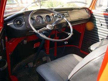 T2 1970 interieur