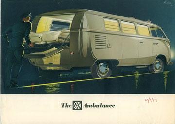 T1a/27 ambulance, 1953 - met achterklep
