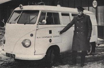 T1b ambulance Schiphol