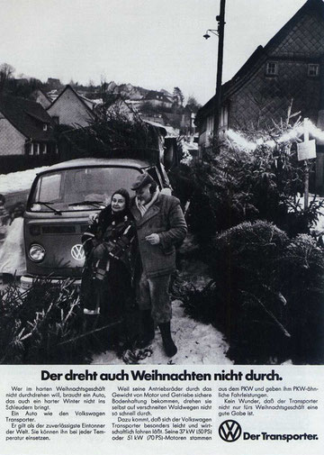 Volkswagen advertentie
