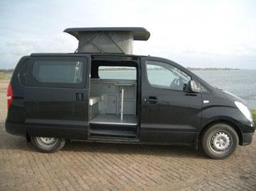 Hyundai H300 met hefdakje en Reimo interieur