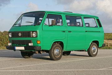 T3b Bus, met extra schuifdeur links en hoofdsteunen