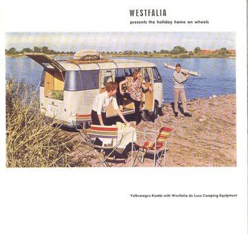 Amerikaanse brochure Campingbox DeLuxe, 1957