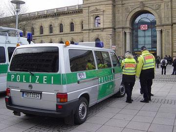 T4b Combi als Duitse politiewagen, 2011