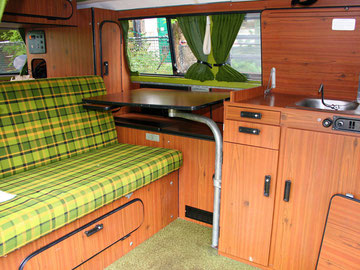 T2 3 campers vw bus camper for Interieur westfalia t3