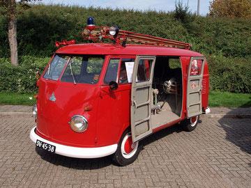 T1b Kronenburg brandweerwagen, 1962