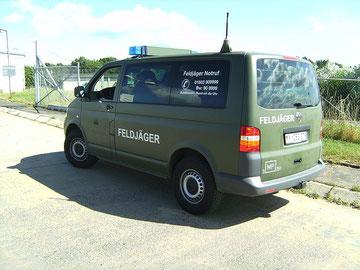 T5a in gebruik bij Duitse militaire politie