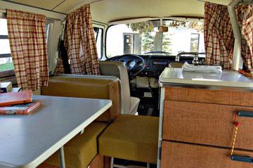 Amerikaanse T2a Westfalia Campmobile