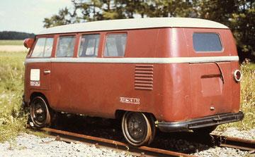 T1a als railbus - Beilhack, 1954