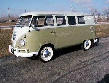Amerikaanse microbus 1955