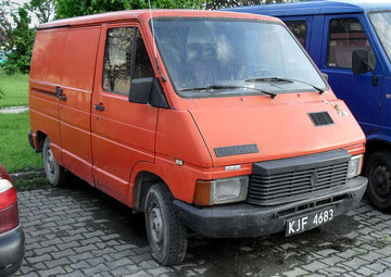 Renault Traffic, 1e generatie, 1980-2000