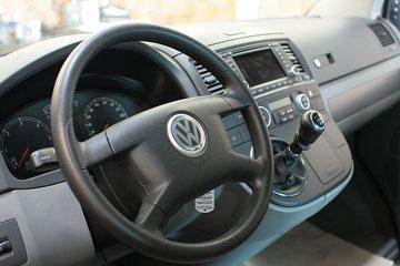 T5 Multivan cockpit