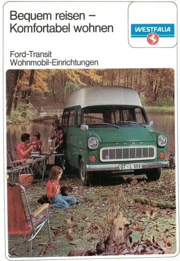 Westfalia Ford Transit hoogdakcamper
