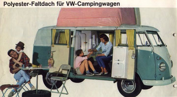 Westfalia SO36 met Dormobile dak