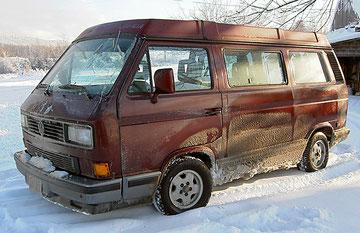 T3 Multivan met klapdak, 1990