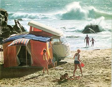 T2a Westfalia kampeerauto, 1970