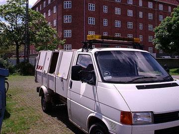 Deense T4a vuilniswagen