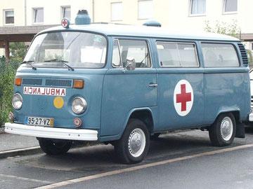 Portugese T2b ambulance, duifblauw