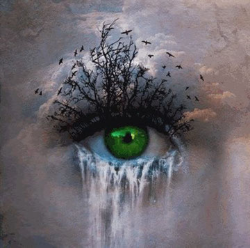 Mutter Erde verliert die Sichtweise...