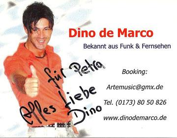 Dino, ich danke Dir für Alles - bist ein ganz Lieber!!!