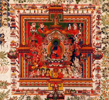 Mandala del Buddha della Medicina