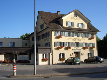 ... unser Hotel in Dornbirn ...