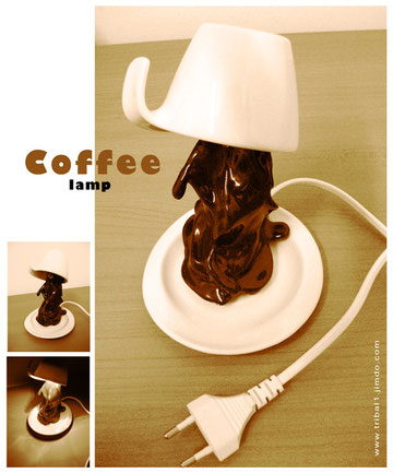 Coffee lamp
