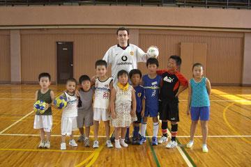 ★    2009.8.5 英語でフットボール    ★