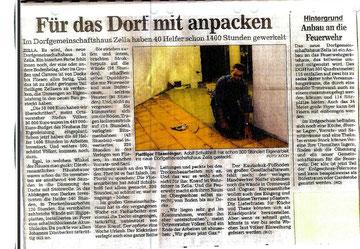 """Eigenleistung """"Dorfgemeinschaftshaus"""""""