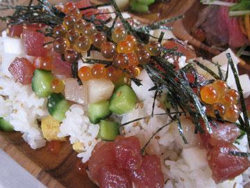 コロコロサイコロチラシ寿司~